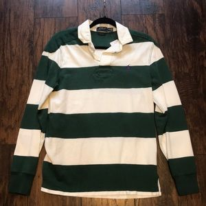 Polo Ralph Lauren Striped Rugby Shirt Men's S